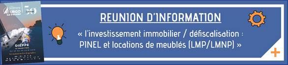 Venez vous informer sur les investissements en immobilier lors de la Solitaire du Figaro