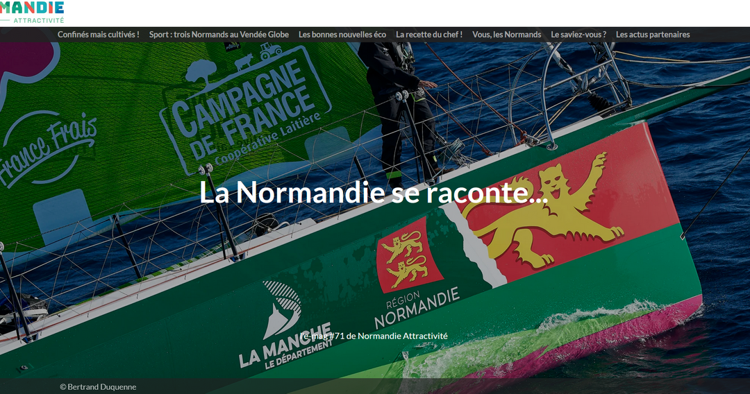 La newsletter de Normandie Attractivité