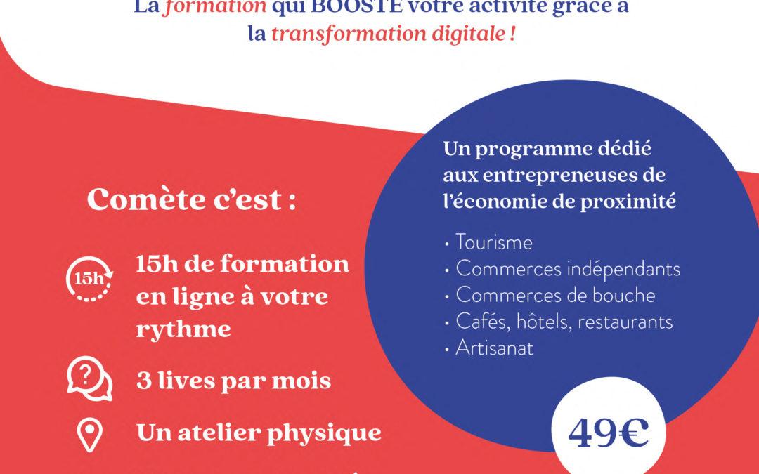 Programme Comète avec Normandie Pionnières